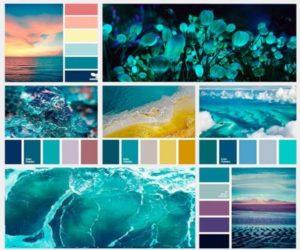 Цвет морской волны в интерьере- Стили и Самые популярные сочетания с морским цветом