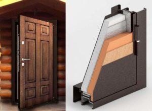 Металлическая дверь с терморазрывом