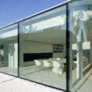 Дом из стекла: проект, особенности